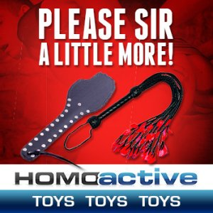 Gay Sex Toys @ Homoactive